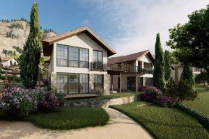 2 卧室公寓葡萄园景观 Ilgaz 土耳其
