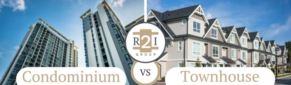 The Greatest Difference Between A Condominium And A Townhouse