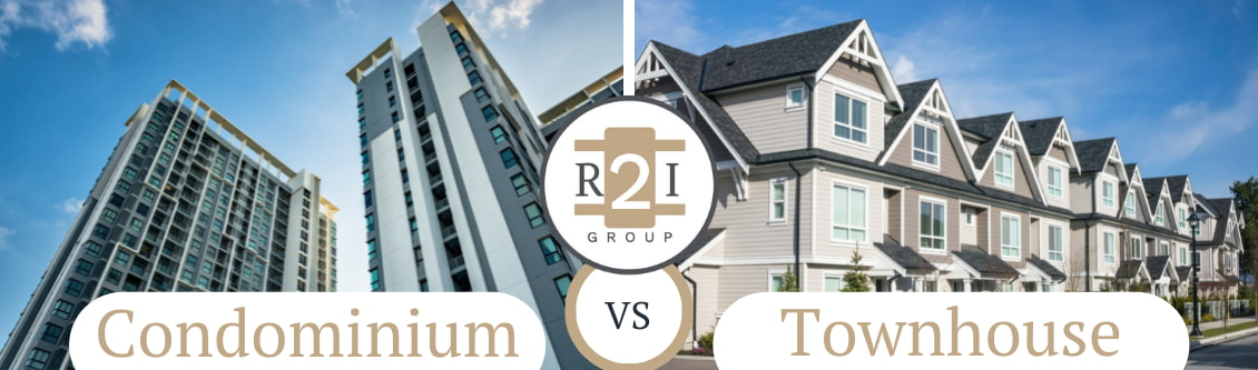 The Difference Between A Condominium And A Townhouse