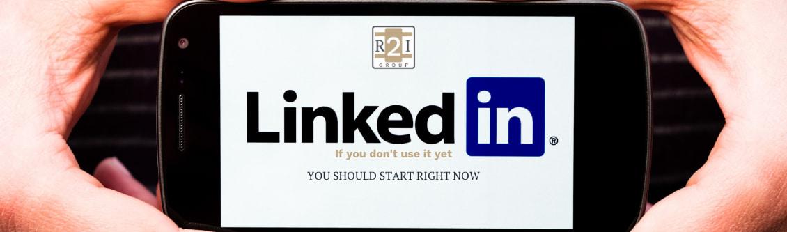 Real Estate Professional should use Linkedin